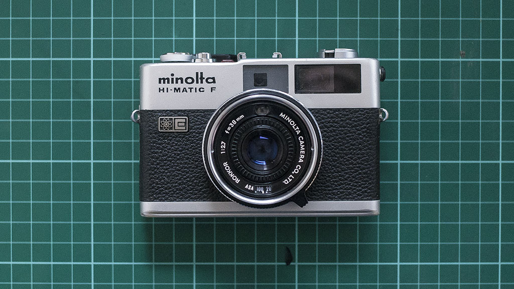 Fixing an unfocusable Minolta Hi-Matic